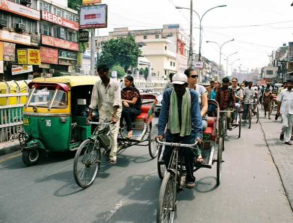 Old Delhi Walk-and-Cycle-Rickshaw-Ride