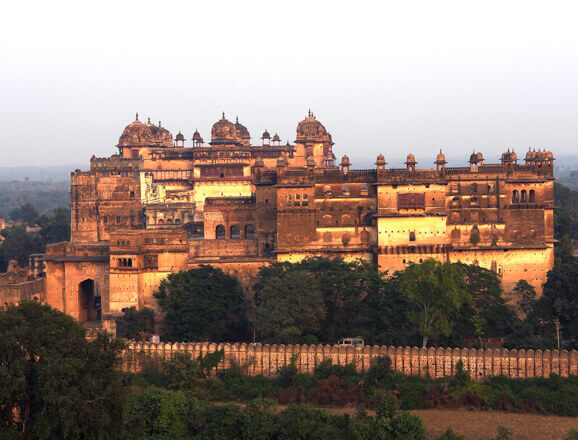 Trace centuries of history of Gwalior rulers at the Fort and visit the Jai Vilas Museum known for its silver dining train