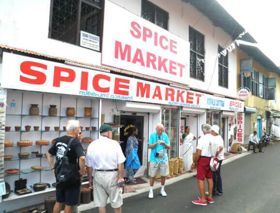 Mattanchery Palace & spice markets