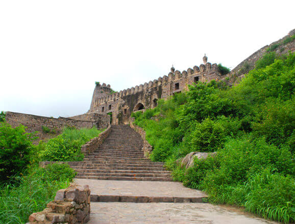 Guided walk of Golconda Fort