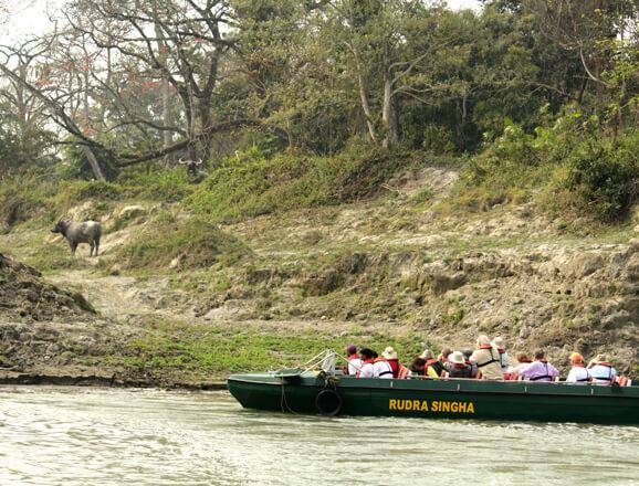 Ganges Cruise: down the Farakka barge