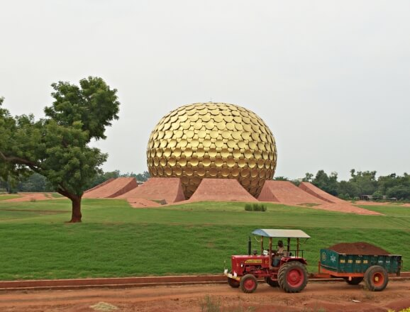 Visit to Auroville