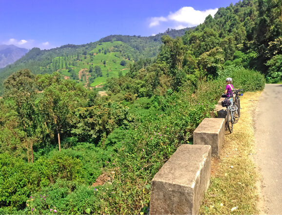 Munnar Cycling Trails