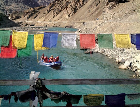 Rafting in Ladakh