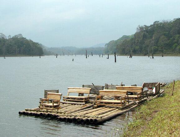 Periyar Bamboo Rafting