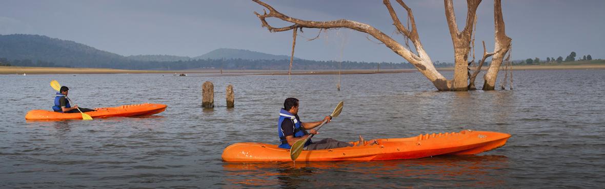 Kayaking on the Kabini