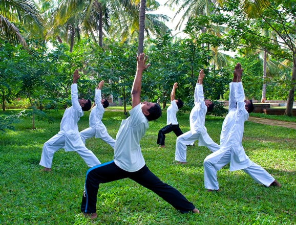 Unwind with Yoga